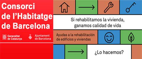 Nueva convocatoria de subvenciones 2019 para la Rehabilitación de Edificios en Barcelona
