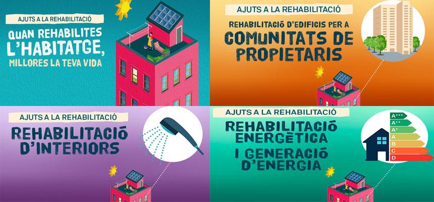 Nous Ajuts a la Rehabilitació 2018