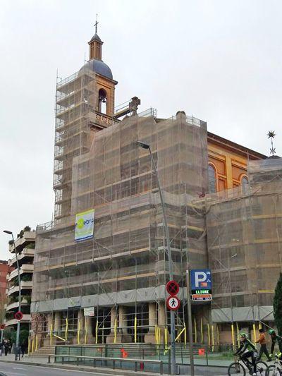 Iniciamos la Rehabilitación de la Fachada principal de la Iglesia de Bonanova