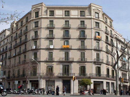 Rehabilitació Façana Passeig de Gràcia – Eixample