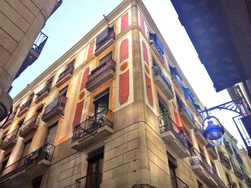 Rehabilitació Façana Milans – Barri Gòtic