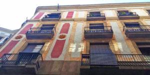 Rehabilitacion fachada barri gotic barcelona Enhebra Rehabilita