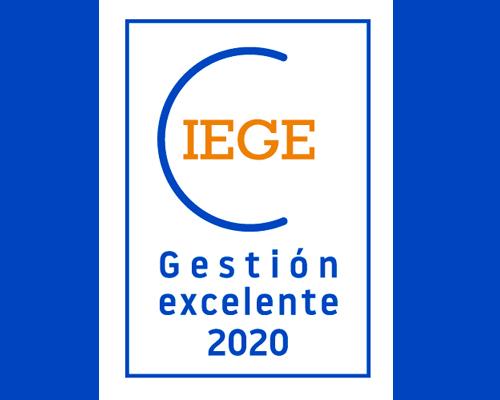 Enhebra aconsegueix el Certificat d'Excel·lència Empresarial CIEGE 2020