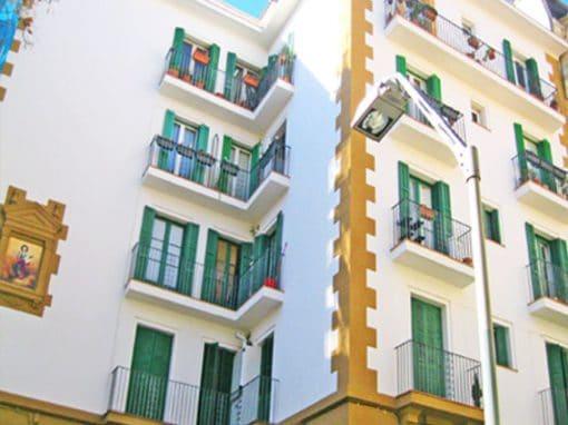 Rehabilitació Façana Vallirana – Barri de Gràcia
